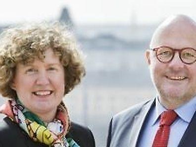 Cathy Fayot et Marc Angel sont les têtes de liste LSAP au élections communales de la ville de Luxembourg.