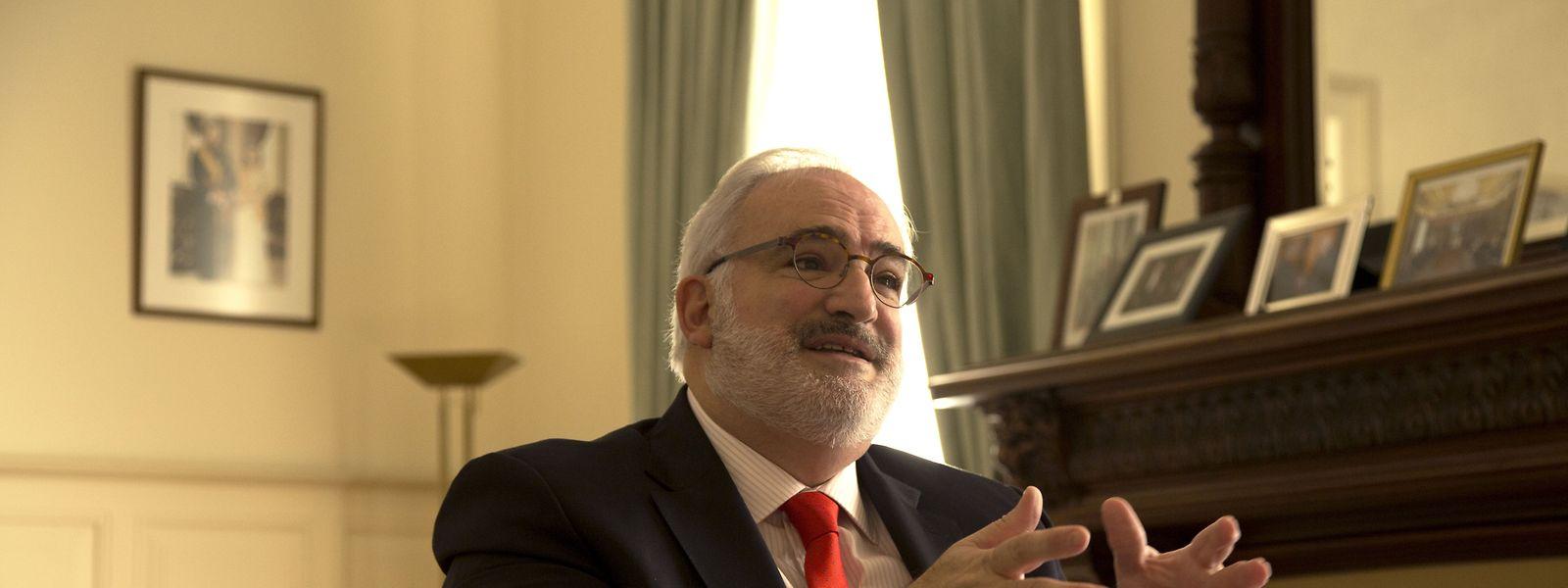Jean-Jacques Welfring é o embaixador do Luxemburgo em Lisboa deste setembro do ano passado.