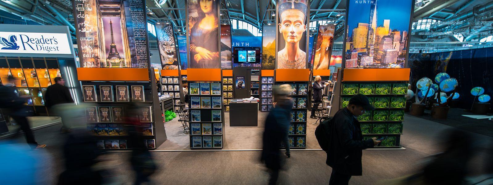 Luxemburg ist erstmals wieder seit fünf Jahren wieder mit von der Partie bei der Frankfurter Buchmesse.