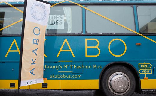 Shown here, the Akabo Bus in Munsbach, although it travels from place to place (full agenda available on akabobus.com).