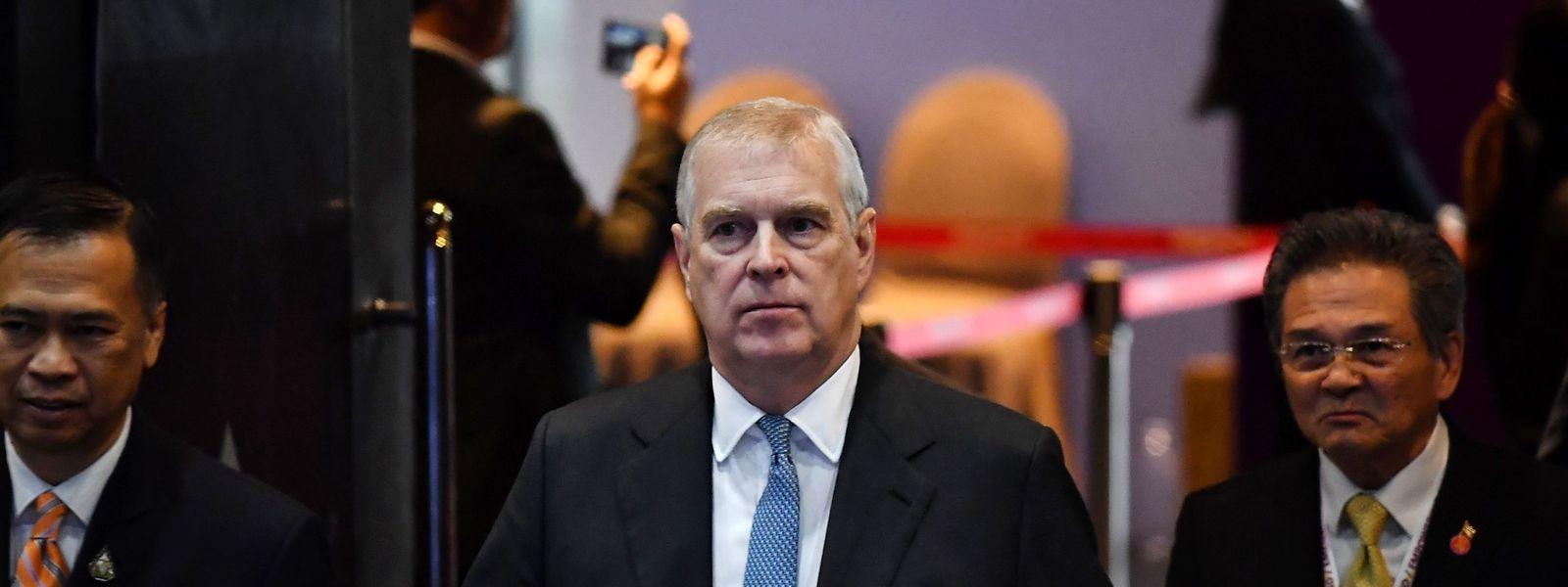Der britische Prinz Andrew beim ASEAN Business and Investment Summit in Bangkok am 3. November.