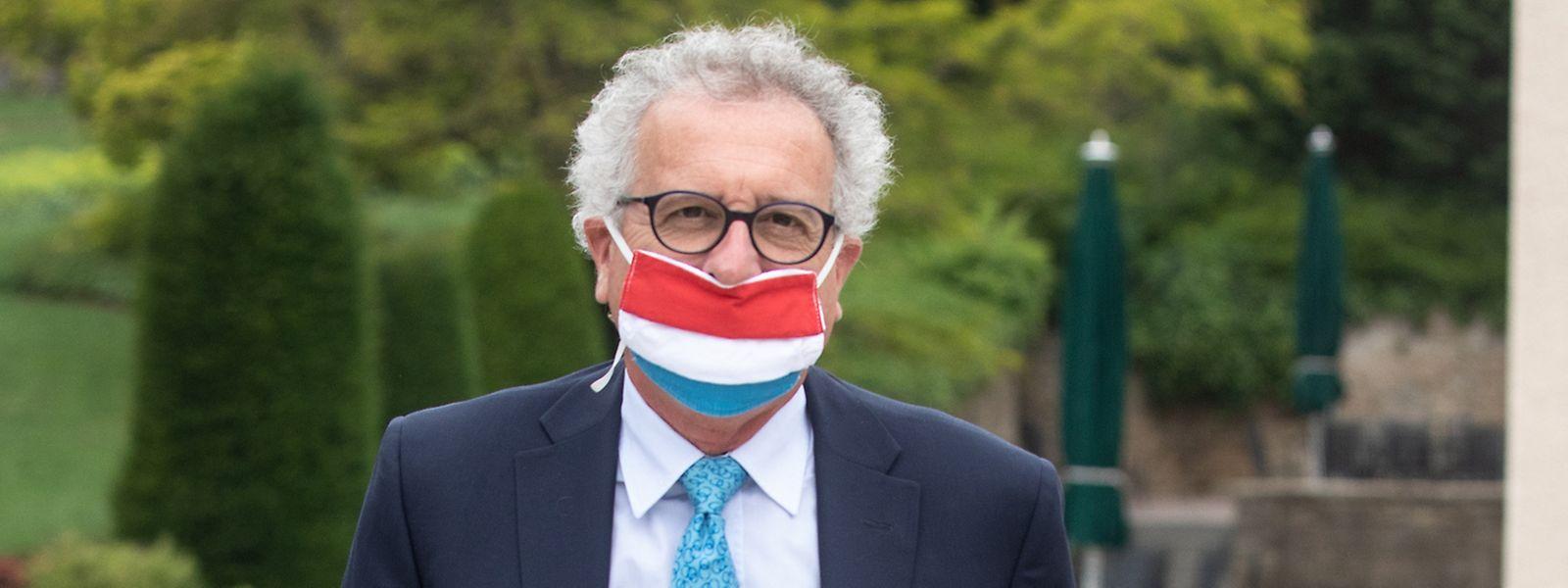 Le ministre des Finances, Pierre Gramegna (DP), doit revoir sa copie pour le budget 2020 du Luxembourg.