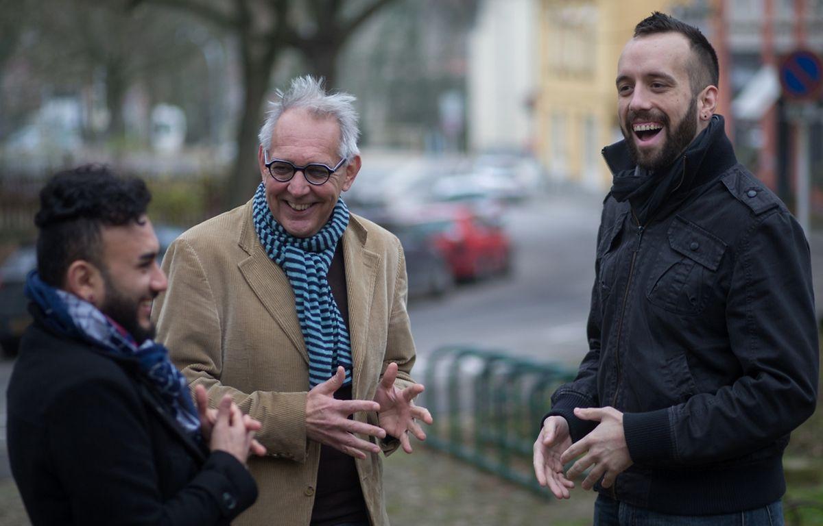 José, Henri Goedertz et Jeff Mannes se connaissent depuis de nombreuses années et oeuvrent maintenant ensemble pour la prévention.