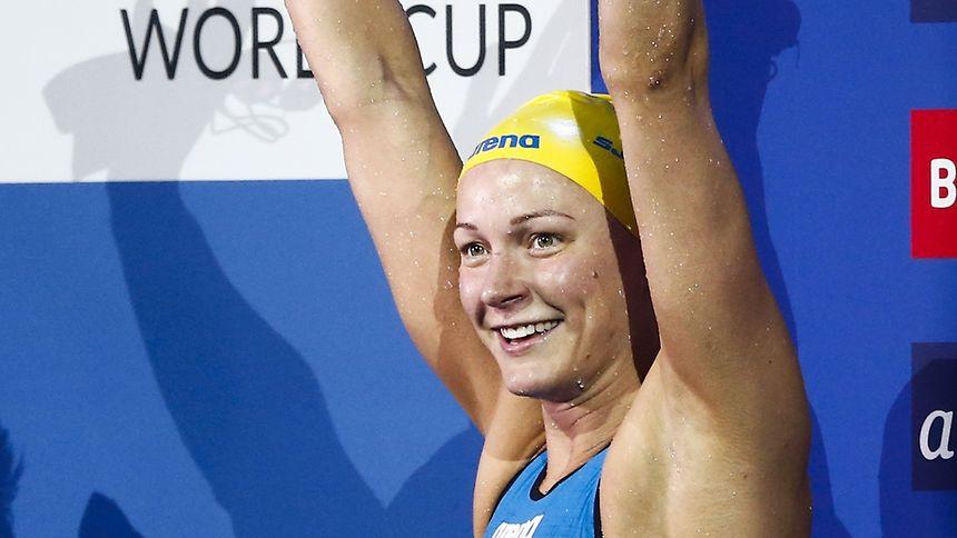 Sarah Sjöström hatte allen Grund zur Freude.