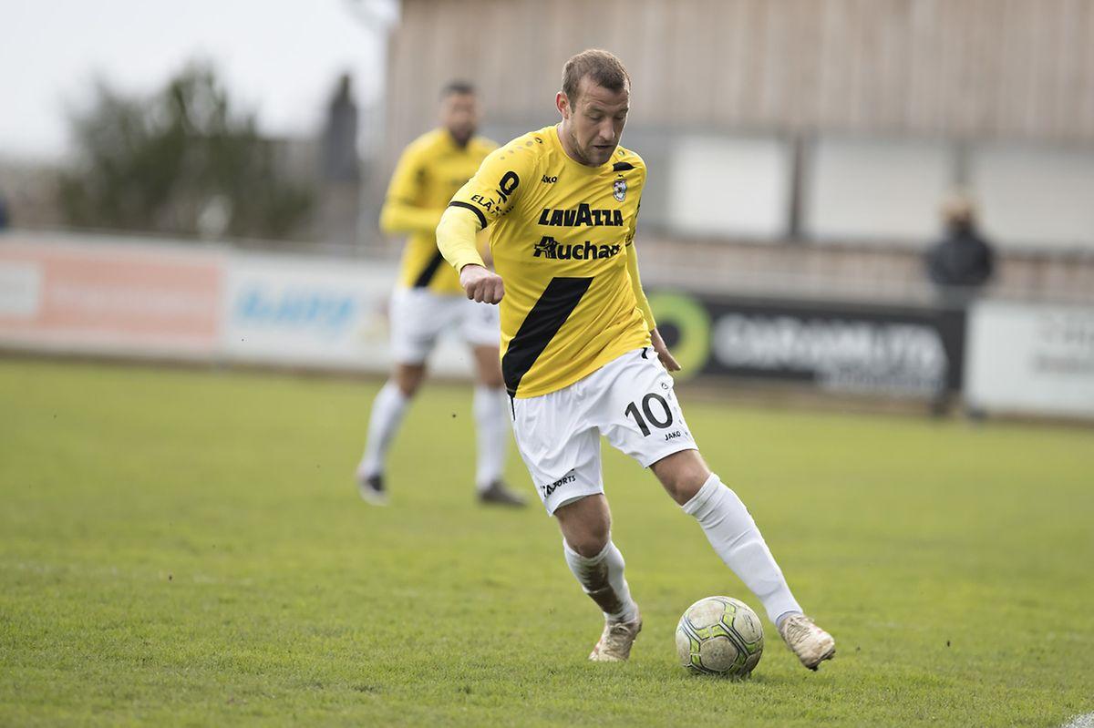 Dominik Stolz et le F91 se déplaceront à la Jeunesse vendredi soir en tant que leader.