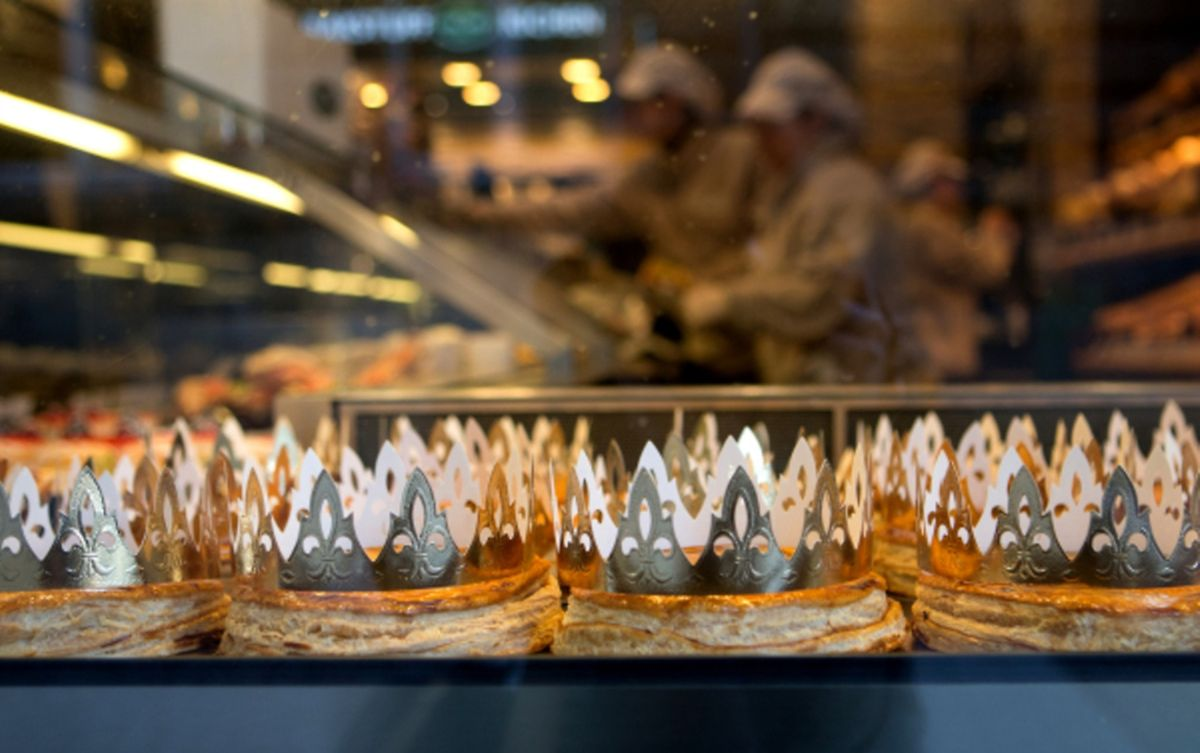 """If your slice contains the """"bean"""", you get to be king or queen for the day Photo: Chris Karaba"""