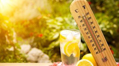 Le mercure a atteint la température de 35.4°C jeudi, la plus élevée enregistrée pour un mois de juin depuis 1947.