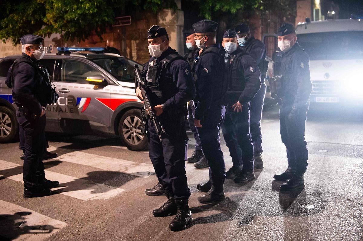 Ein Großaufgebot an Polizisten wurde alarmiert.
