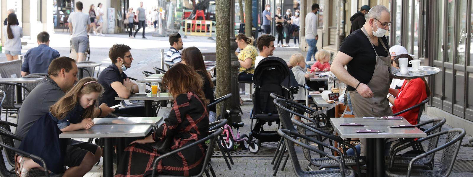 Ab Mittwoch können Bars und Restaurants ihre Terrassen von 6 bis 18 Uhr öffnen.