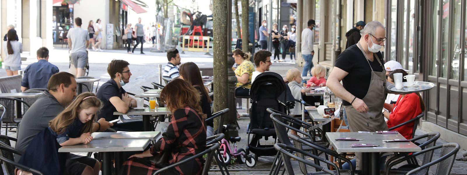 """""""Im Restaurant müssen sich Gäste an die Bestimmungen halten. Im Park nicht"""", sagt François Koepp, Generalsekretär der Horesca."""