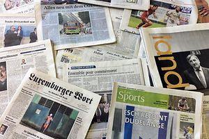 Zeitungen Medien