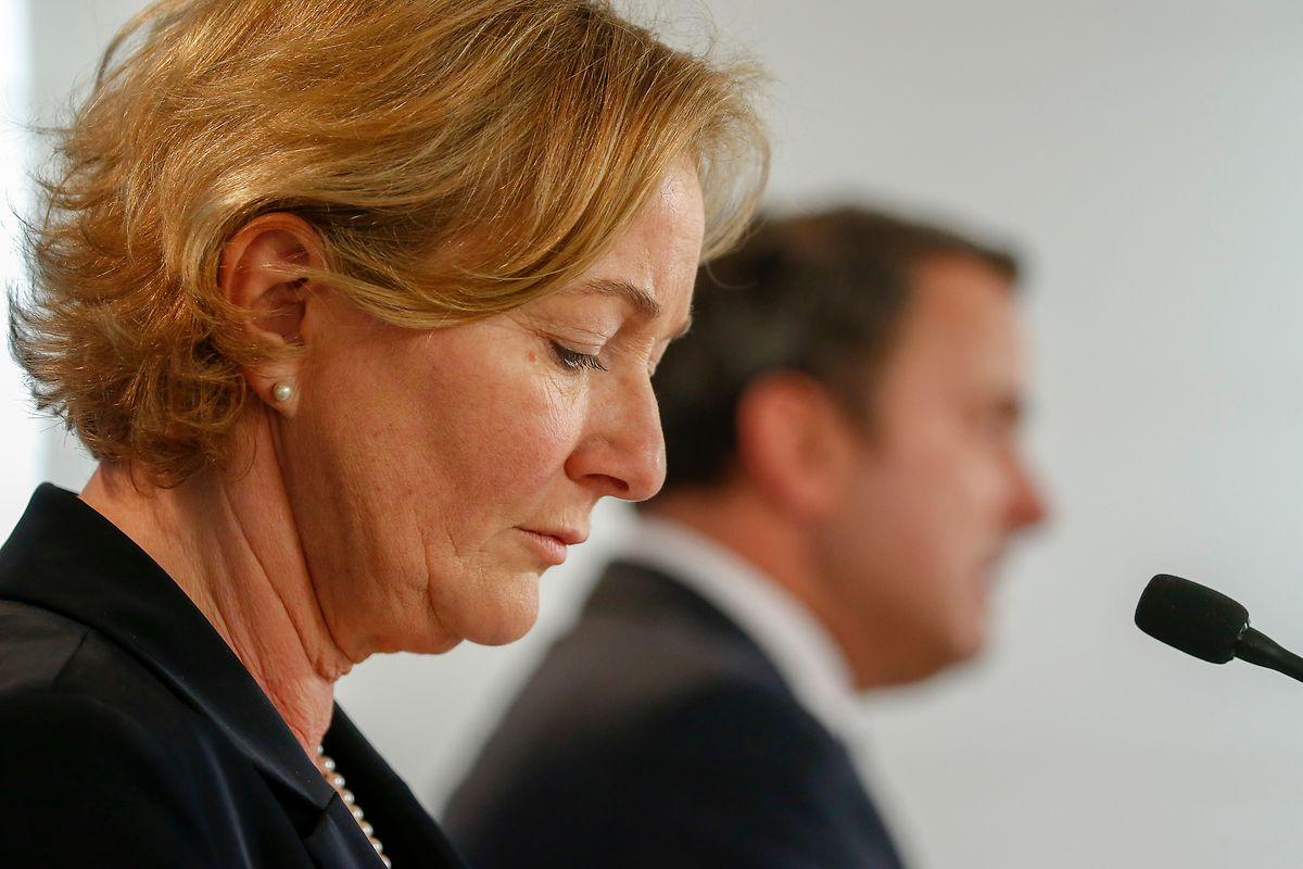 Gesundheitsministerin Paulette Lenert und Premierminister Xavier Bettel zogen am Mittwoch Bilanz und kündigten weitere Maßnahmen an.