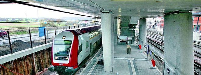 Kein Provisorium mehr: Ab sofort ist der Bahnhof Belval-Université direkte Haltestelle.