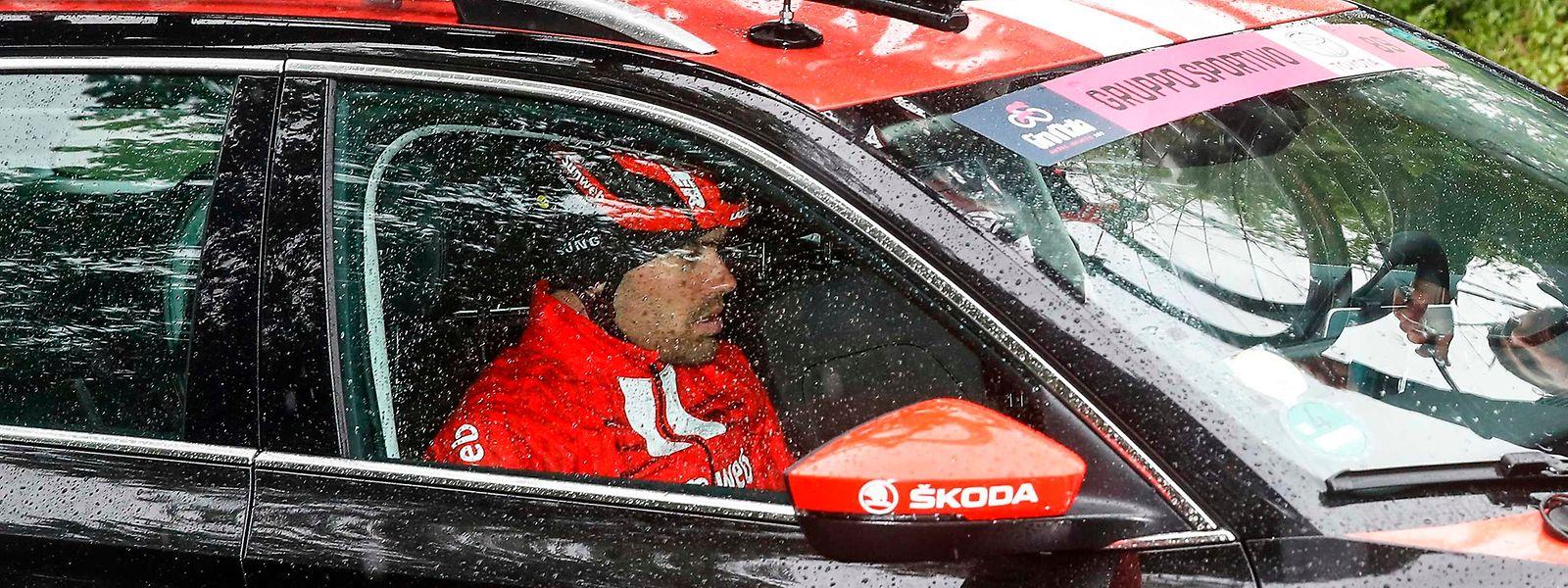 Tom Dumoulin musste den 102. Giro d'Italia verletzt abbrechen.