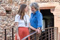 Diane Schumacher et son mari Reinhold Messner au Chateaux de Firmino à Merano/Bolzano le 09 Juin 2021 Photo Christophe Olinger