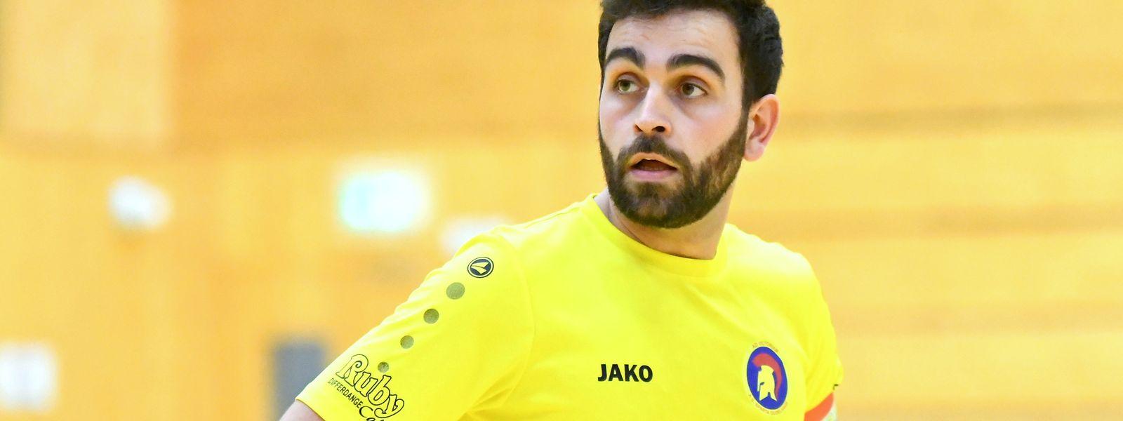 Nuno Rodrigues, le capitaine de AS Sparta Dudelange, croit dans les chances de ses couleurs face au redoutable FC Differdange 03