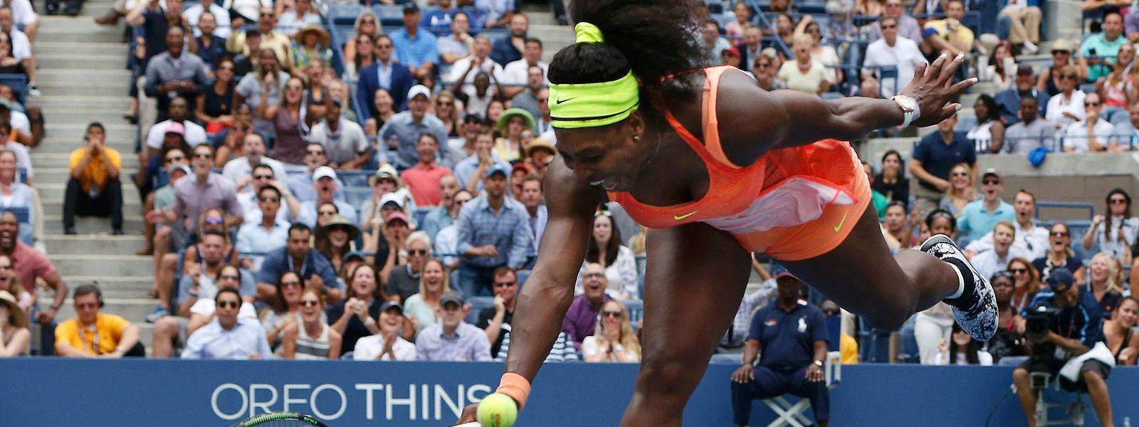 Vorzeitiges Saisonende: Serena Williams zieht nach dem Aus im Halbfinale der US Open (Foto) die Konsequenzen.
