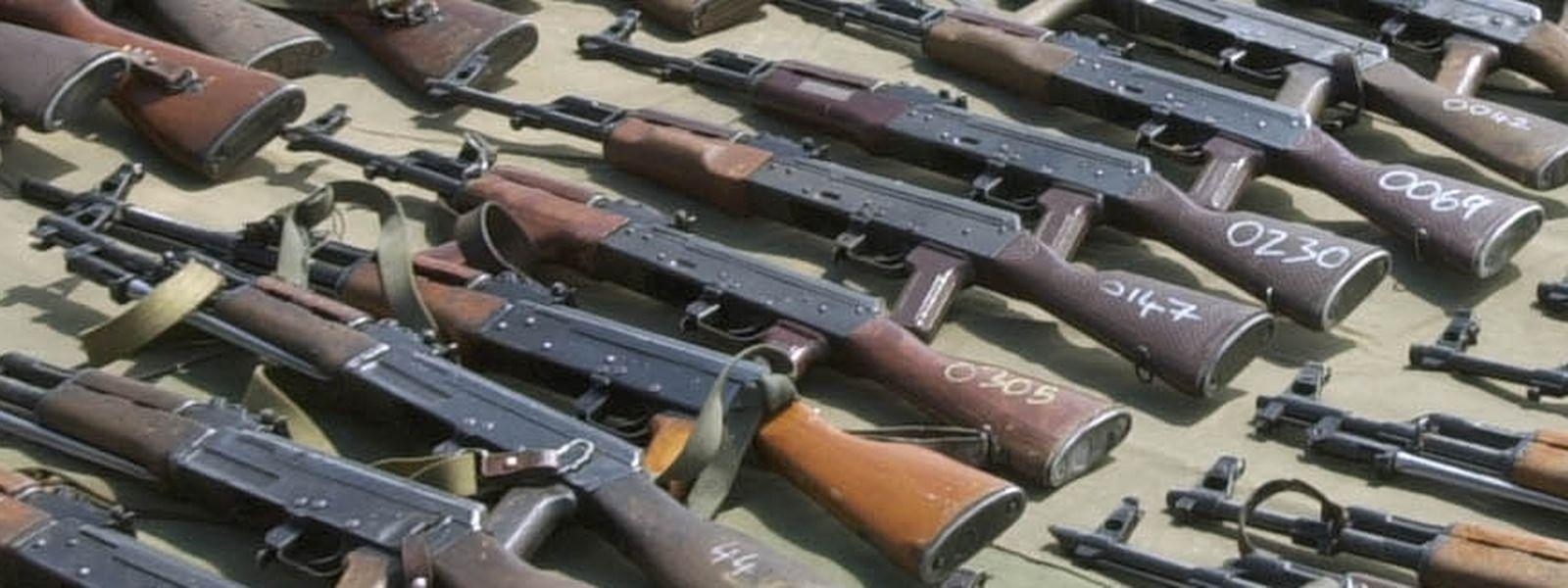 Eine slowakische Firma bietet ihre Waffen auch in Luxemburg an.