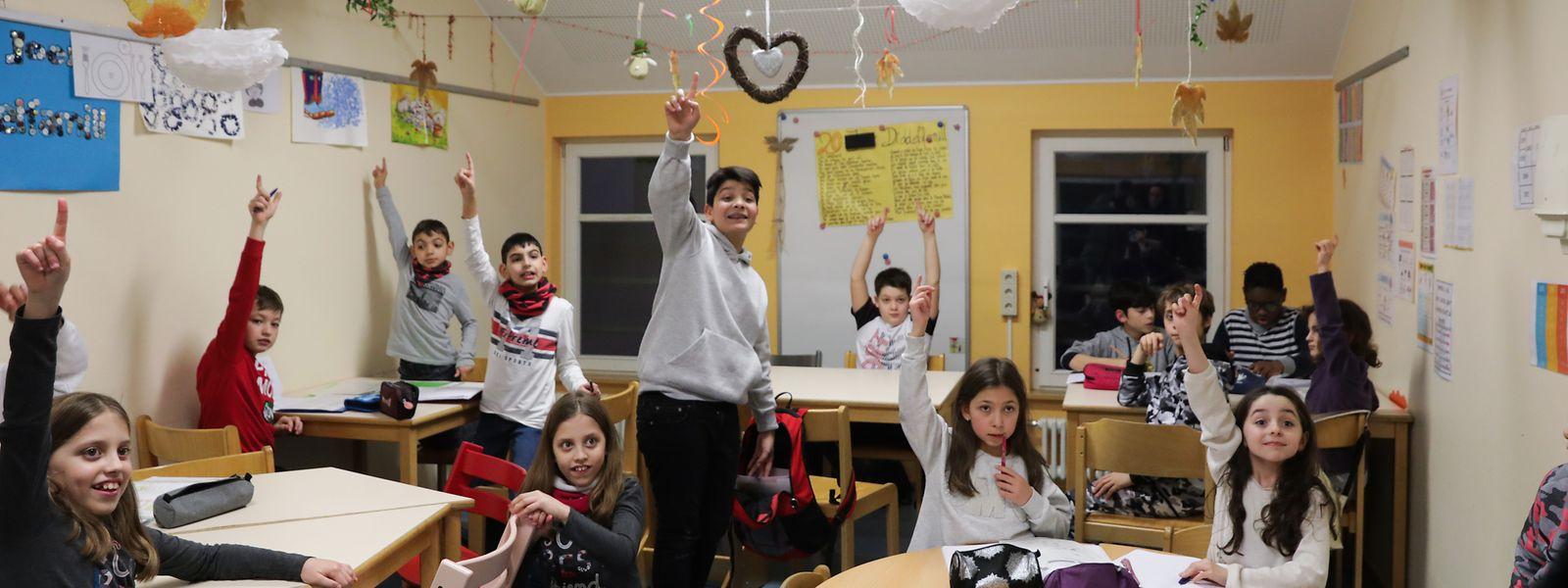 """In der Maison relais """"Diddelfamill"""" der Vereinigung Inter-Actions im Viertel Italien werden die Schulkinder während der Hausaufgaben regelmäßig zu sportlichen Aktivitäten aufgefordert."""