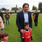 Nuno Gomes apadrinhou abertura oficial da Escola do Benfica no Luxemburgo