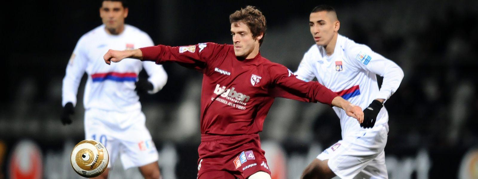 Julien Cardy a gardé un excellent souvenir du FC Metz. Il téléphone régulièrement au président Molinari et au service administratif.