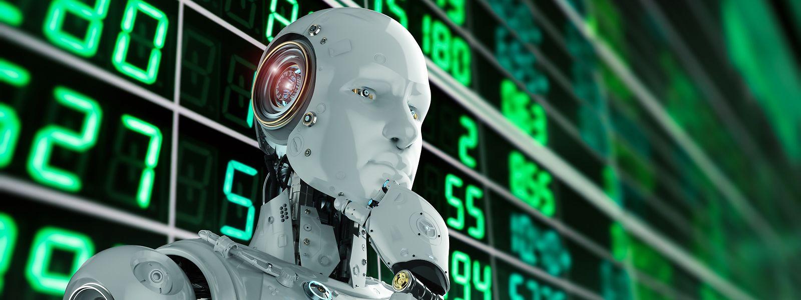 Wird der Bankier der Zukunft ein Roboter sein?