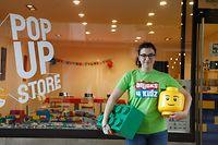 online.fr, Pop Up Store, rue  Philippe II, bricks 4 kidz, Raquel Luis silva Foto: Anouk Antony/Luxemburger Wort