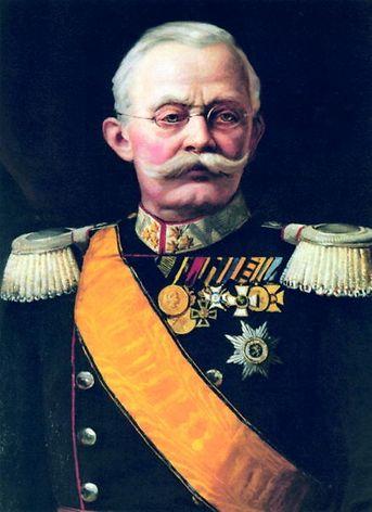 O Grão-Duque Adolphe recebeu o visconde de Pindela