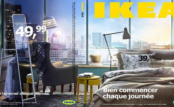 luxemburger wort le catalogue ikea obtient sa premi re critique litt raire. Black Bedroom Furniture Sets. Home Design Ideas