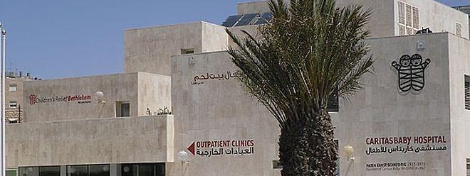 Parmi les projet financés depuis le Luxembourg, l'hôpital pour nouveau-nés de Bethléem en Palestine.