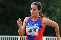 Charline Mathias - 400m dames / Championnats Nationaux d'Athlétisme Luxembourg /  14/07.2018 / Stade Jean Jacoby, Schifflange / Photo : Michel Dell'Aiera