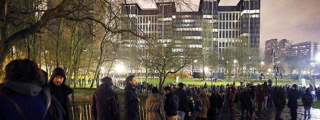Les autorités belges leur mènent la vie dure, au motif qu'elles veulent éviter la formation d'une «jungle de Calais» au pied des tours du quartier Nord.