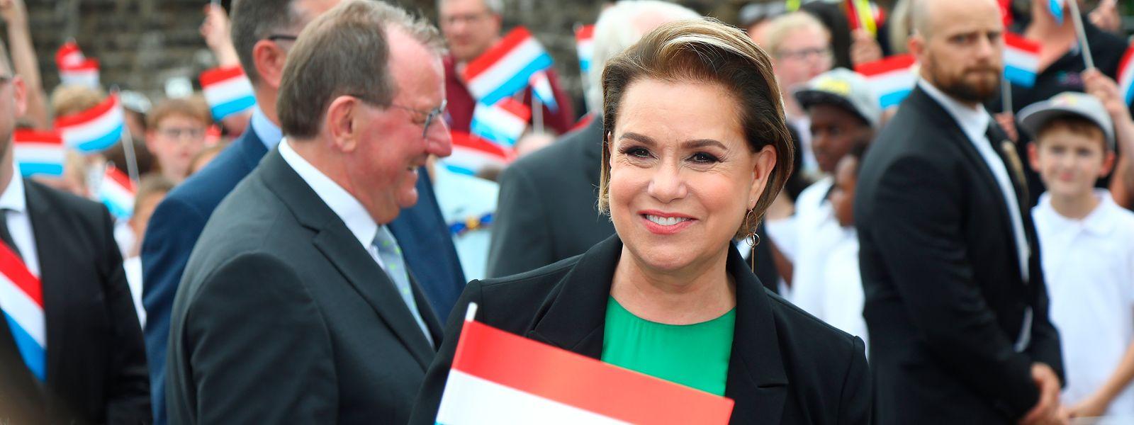 L'épouse du Grand-Duc sera désormais assistée par de nombreux services pour la soutenir au mieux dans ses fonctions, rappelle Yuriko Backes.