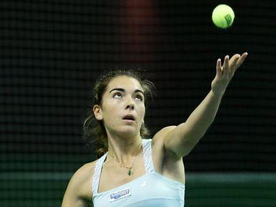 02 Tennis Masters Endspiel der Frauen im CNT Esch am 20.11.2016 Eleonora MOLINARO