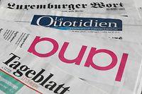 Illustration, Media, Medien, Plurimedia, Print, Zeitung, Zeitungen, Luxemburgische Presse, Presse, Pressehilfe, aide à la presse, Foto: Luxemburger Wort/Anouk Antony