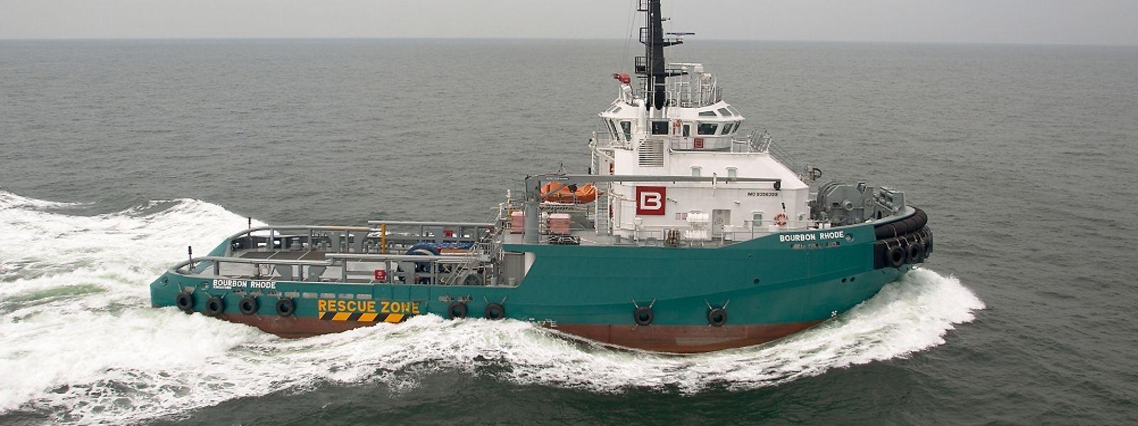 Immatriculé au Luxembourg, propriété d'un armateur français, le Bourbon Rhode a coulé le 26 septembre dernier.