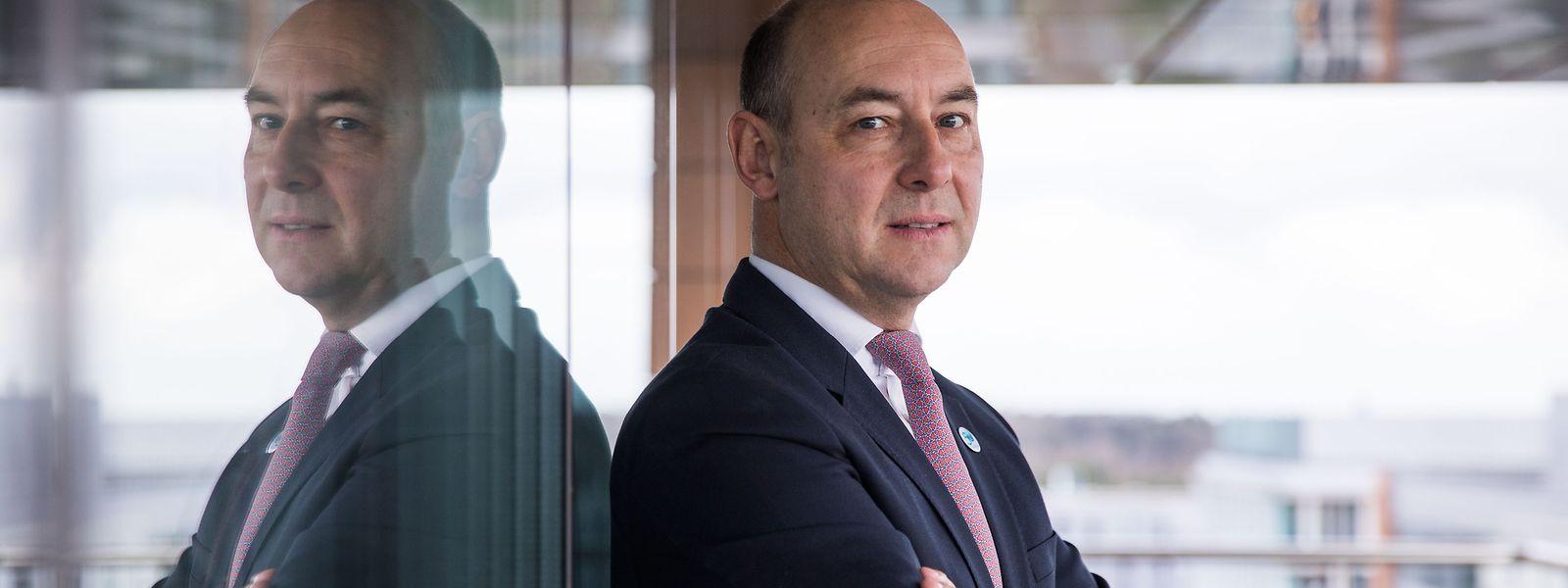 Philippe Seyll, Chef von Clearstream seit 2018, sieht Fintech als einen zentralen Baustein für die Zukunft des Unternehmens. Der Finanzdienstleister investiert deshalb massiv in diesen Bereich.