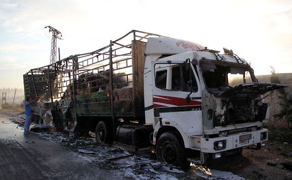 Enquêter sur l'attaque contre un convoi humanitaire de l'ONU — Syrie