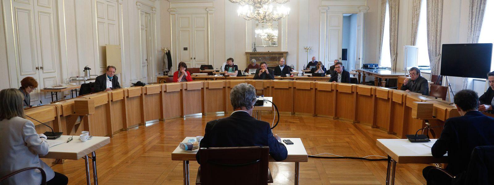 Der Rat des Syvicol tauschte sich am Montag im Gemeindehaus in der Hauptstadt aus.