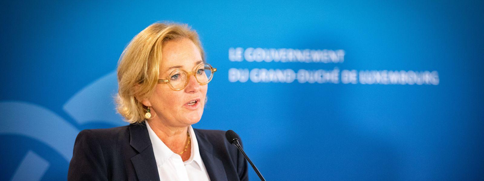 Paulette Lenert lieferte am Donnerstag Details zur zweiten Phase der Corona-Teststrategie in Luxemburg.
