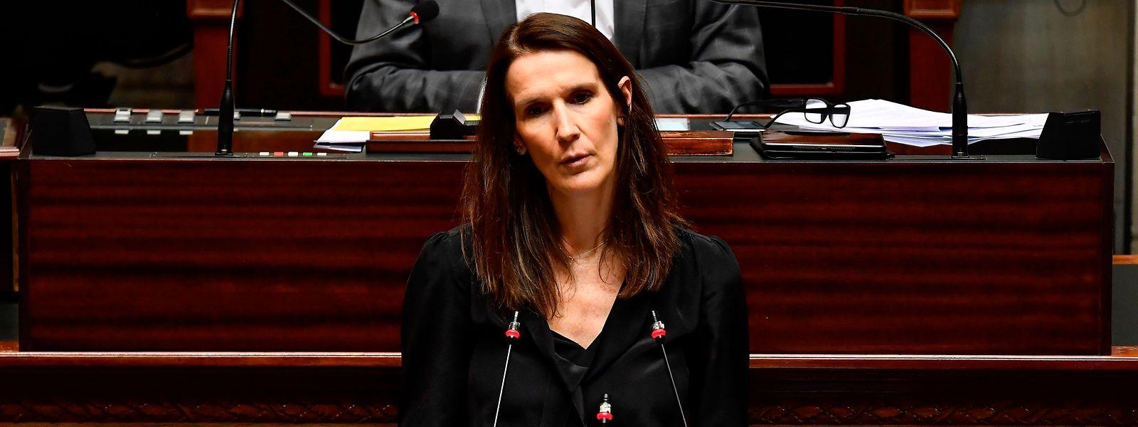 La Première ministre Sophie Wilmes a reçu ce jeudi la confiance du Parlement.
