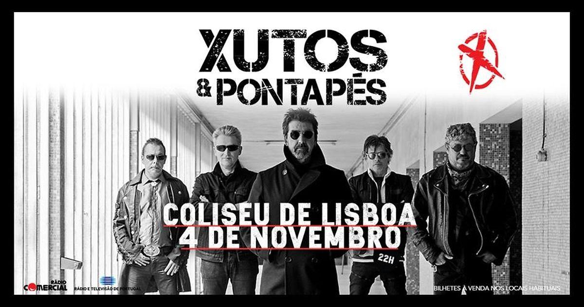 O último concerto de Zé Pedro, com os Xutos: Dia 4 de Novembro, Coliseu dos Recreios, em Lisboa.