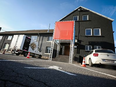 Les anciens locaux de CFL Multimodal, rue d'Alsace à Luxembourg,  abritent désormais un espace dédiés aux start up industrielles.