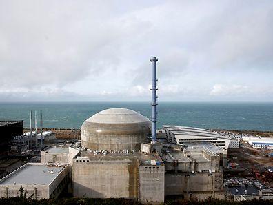 Das Kraftwerk befindet sich auf der französischen Seite des Ärmelkanals.