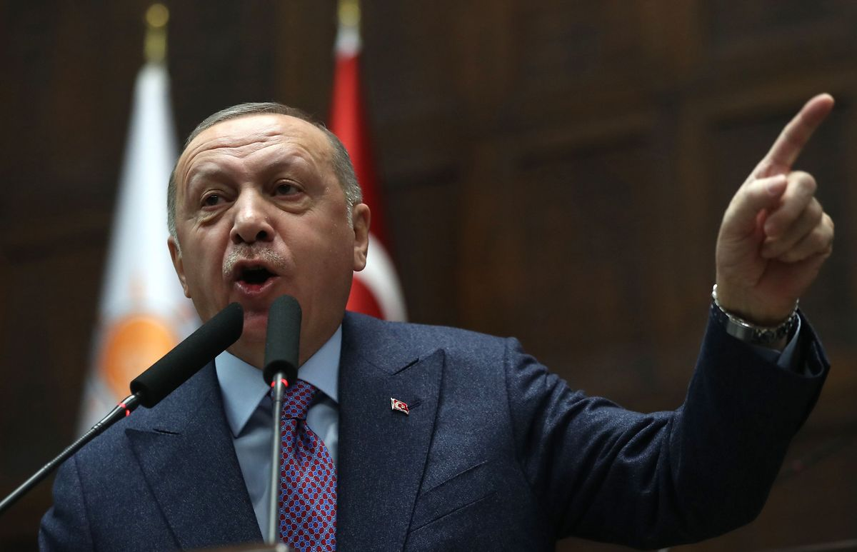 Erdogan droht der EU mit einer Flüchtlingswelle.