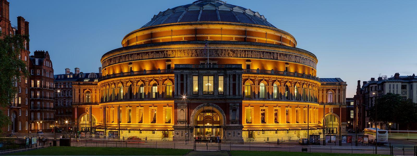 Ehrwürdig: Die Royal Albert Hall im Londoner Stadtteil Kensington.