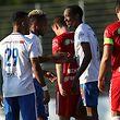 Jader Soares et Sven Kalisa savourent un court instant après l'ouverture du score.