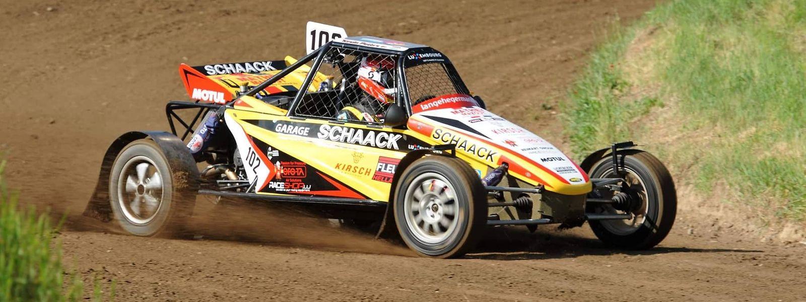 Avec un nouveau moteur sur sa Triumph, Kevin Peters a réussi à grappiller 17 points ce week-end à Seelow