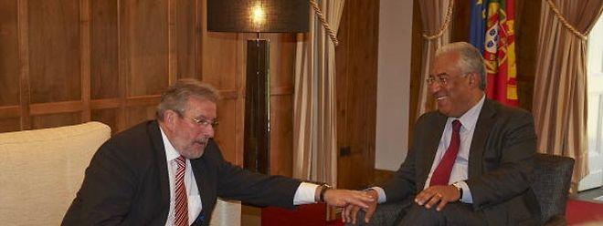 O presidente do Parlamento luxemburguês, Mars Di Bartolomeo, esteve com António Costa em Fevereiro, altura em que visitou a Assembleia da República