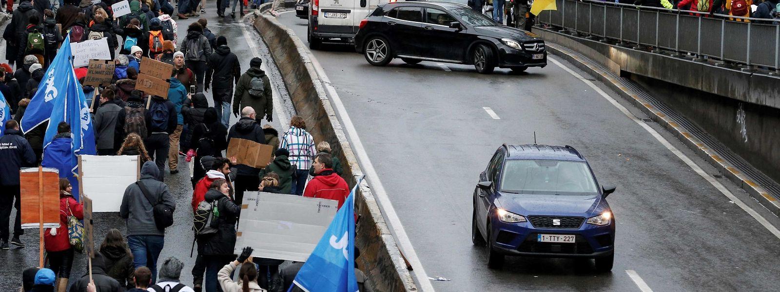 Rund 70.000 Personen nahmen an der Demo in Brüssel teil. Es war die zweite ihrer Art.